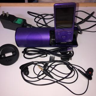 ウォークマン(WALKMAN)のSONY WALKMAN NW-S774K パープル 8GB(ポータブルプレーヤー)