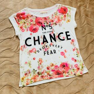 ベルシュカ(Bershka)のベルシュカ フラワー Tシャツ(Tシャツ(半袖/袖なし))