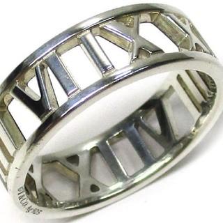 ティファニー(Tiffany & Co.)のティファニー アトラス オープン リング シルバー SV925 サイズ約17号(リング(指輪))