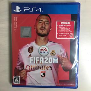 プレイステーション4(PlayStation4)の新品未開封 24時間以内発送 FIFA20 PS4(家庭用ゲームソフト)