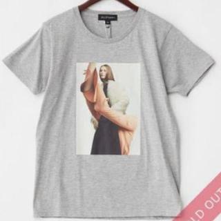 ジルスチュアート(JILLSTUART)のJILLSTUART グレー Johanna Bear Tシャツ サイズF (Tシャツ(半袖/袖なし))
