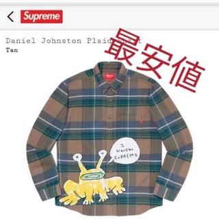 シュプリーム(Supreme)のsupreme Daniel Johnston Plaid Shirt(シャツ)