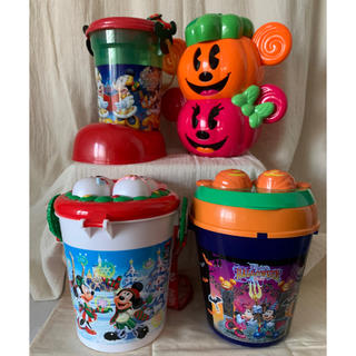 ディズニー(Disney)のTDR ディズニー ポップコーンバケット ハロウィン クリスマス TDL TDS(バスケット/かご)