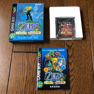 ゲームボーイ(ゲームボーイ)のゲームボーイソフト ゼルダの伝説 時空の章(家庭用ゲームソフト)