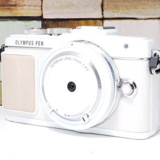 キヤノン(Canon)の★美品★OLYMPUS E-PL7 レンズセット(デジタル一眼)