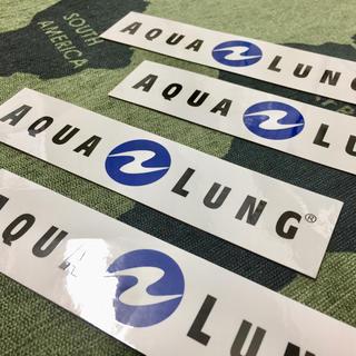 アクアラング(Aqua Lung)のアクアラング  シール 4枚(マリン/スイミング)