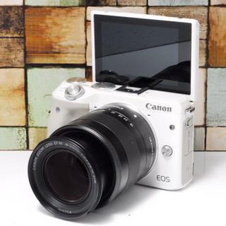 キヤノン(Canon)の【★超人気★】Canon EOS Kiss M3 ホワイト(デジタル一眼)