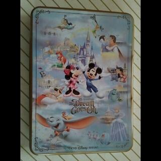 ディズニー(Disney)のディズニー 25周年 ミッキー ミニーマウス スティッチ ダンボ 缶 D20(キャラクターグッズ)