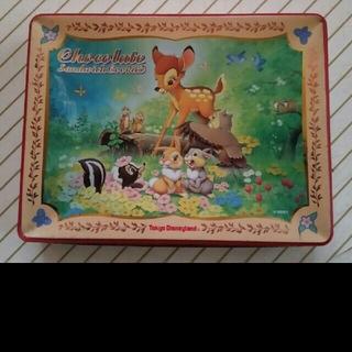 ディズニー(Disney)のディズニー バンビ チップとデール ミスバニー 缶 D21(キャラクターグッズ)