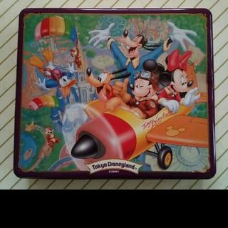 ディズニー(Disney)のディズニー ミッキー ミニーマウス ドナルドダック グーフィー 缶 D22(キャラクターグッズ)