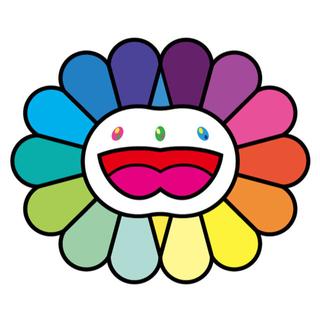 村上隆 版画 Multicolor Double Face White (版画)