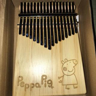 可愛いカリンバ/親指ピアノ peppa pig(鉄琴)