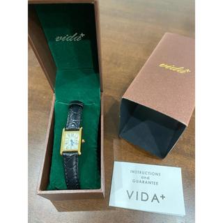 ヴィーダプラス(VIDA+)のvida+ ヴィーダプラス ミニレクタンギュラー(腕時計)