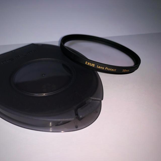 [58mm] MARUMI レンズフィルター EXUS レンズプロテクト スマホ/家電/カメラのカメラ(フィルター)の商品写真