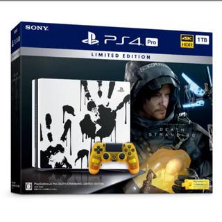 プレイステーション4(PlayStation4)のPS4 Pro  DEATH STRANDING CUHJ-10033(家庭用ゲーム機本体)