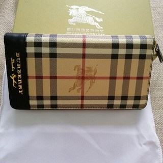 BURBERRY - 男女兼用バーバリー 長財布