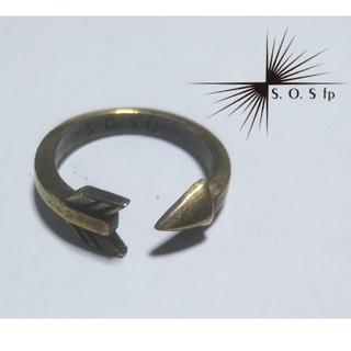 エスオーエスエフピー(S.O.S fp)のアローリング ピンキーリング フリーサイズ(リング(指輪))