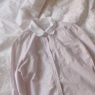エヘカソポ(ehka sopo)のストライプシャツ(シャツ/ブラウス(長袖/七分))