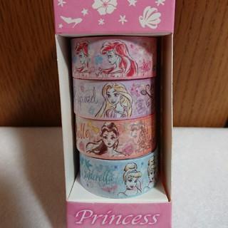 ディズニー(Disney)のプリンセス マスキングテープ(テープ/マスキングテープ)