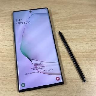 SAMSUNG - 美品 GalaxyNote10 Black  docomo5G使用可 新品同等品