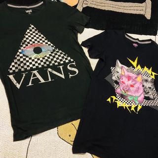ヴァンズ(VANS)のUS限定 VANS T-shirts 2枚セットで1,000円!(Tシャツ(半袖/袖なし))