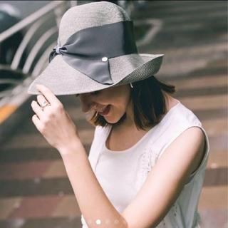 トゥモローランド(TOMORROWLAND)の⭐お値引き中⭐ 美品 アシーナニューヨーク リサコ(麦わら帽子/ストローハット)