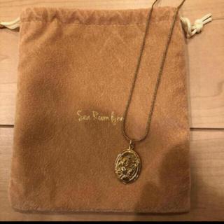 シールームリン(SeaRoomlynn)のSearoomlynn Ellipse coin ネックレス(ネックレス)