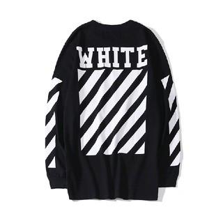 OFF-WHITE - ❤大人気❤オフホワイトOFF-WHITE 男女兼用 長袖 ブラック