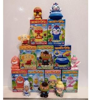 アンパンマン(アンパンマン)の新品⭐あつまれアンパンマン P62  コンプリートセット ソフビ指人形 おもちゃ(ぬいぐるみ/人形)