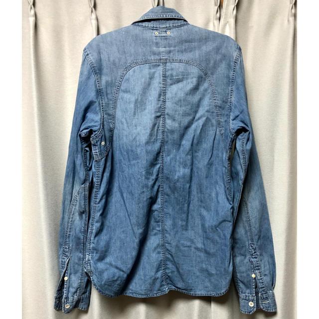 SCOTCH & SODA(スコッチアンドソーダ)のscotch&soda デニムシャツ Sサイズ メンズのトップス(シャツ)の商品写真