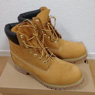 【未使用品】Timberland US8.5  26.5cm ブーツ