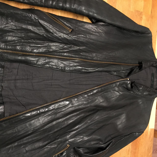 AMERICAN RAG CIE(アメリカンラグシー)のアメリカンラグシーの革ライダースジャケット メンズのジャケット/アウター(レザージャケット)の商品写真