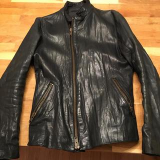 アメリカンラグシーの革ライダースジャケット