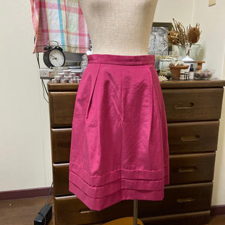 ルカ(LUCA)のLUCA きれい色 ピンク スカート 日本製(ミニスカート)