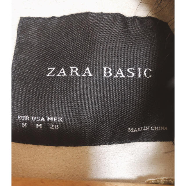 ZARA(ザラ)のZARA フェイクファーベスト 未使用品 値下げ! レディースのジャケット/アウター(毛皮/ファーコート)の商品写真