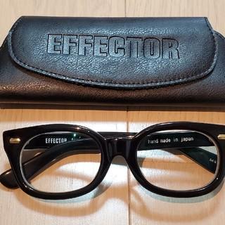 エフェクター(EFFECTOR)のエフェクターEFFECTOR / Fuzz-sファズエス 眼鏡黒金 cradle(サングラス/メガネ)