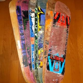ベイカー(BAKER)のスケートボード中古デッキ8枚セット バラ売り不可(スケートボード)