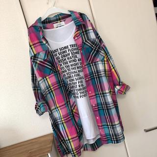 ズーティー(Zootie)の未使用 zootie チェックシャツ(シャツ/ブラウス(長袖/七分))