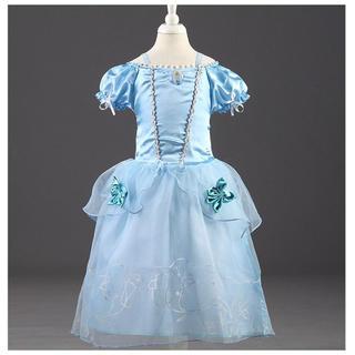 ディズニー(Disney)のシンデレラ ドレス プリンセスドレス 衣装 コスプレ(ドレス/フォーマル)