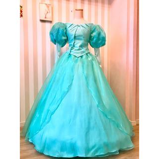 ディズニー(Disney)の♡リトルマーメイド♡アリエル♡グリーティング グリーンドレス風衣装♡新品(その他ドレス)