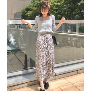 MERCURYDUO - マーキュリーデュオ♡レオパード 柄Aラインスカート