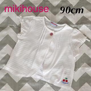 ミキハウス(mikihouse)のmikihouse カーディガン 90cm(カーディガン)