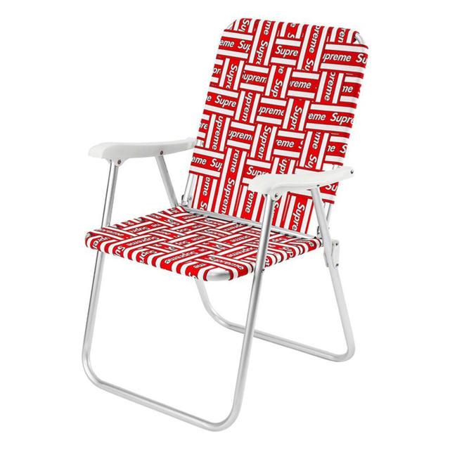 Supreme(シュプリーム)のSupreme Lawn Chair 折りたたみイス インテリア/住まい/日用品の椅子/チェア(折り畳みイス)の商品写真