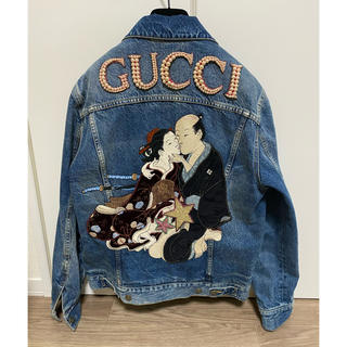 Gucci - グッチ デニムジャケット 春画 42
