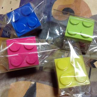 カルディ(KALDI)の新品 カルディ 限定 オリジナル ブロックケース Sサイズ 4個 セット(積み木/ブロック)