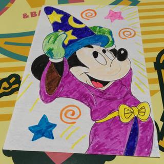 ディズニー(Disney)のミッキーマウス大人の塗り絵(アート/エンタメ)