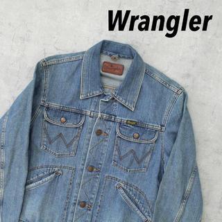 ラングラー(Wrangler)のWrangler ラングラー 日本製 デニムジャケット ダブルポケットインディゴ(Gジャン/デニムジャケット)