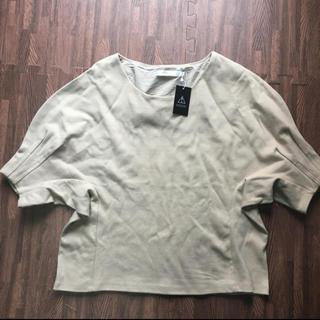 アズールバイマウジー(AZUL by moussy)のAZUL by moussy 袖タックトップス(Tシャツ(半袖/袖なし))