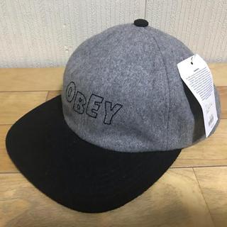 オベイ(OBEY)のObey オベイ スナップバックキャップ 新品未使用 男女兼用 送料無料(キャップ)