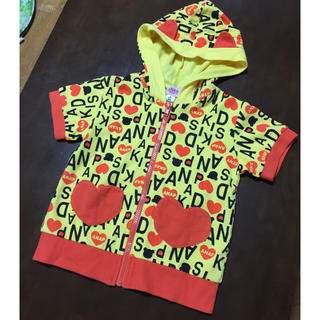 アナップキッズ(ANAP Kids)のアナップキッズ 半袖パーカー(Tシャツ/カットソー)